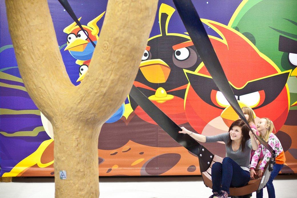 Создатели Angry Birds откроют девять тематических парков в Китае - Изображение 1