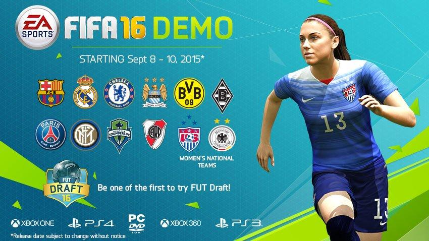 Демо-версия FIFA 16 вышла на консолях - Изображение 1