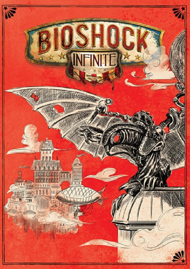 Irrational Games представила обратную сторону обложки BioShock Infinite. - Изображение 1
