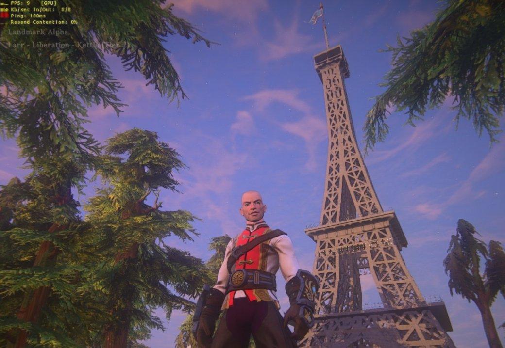 В EverQuest Next Landmark построили скотный двор и Эйфелеву башню - Изображение 1