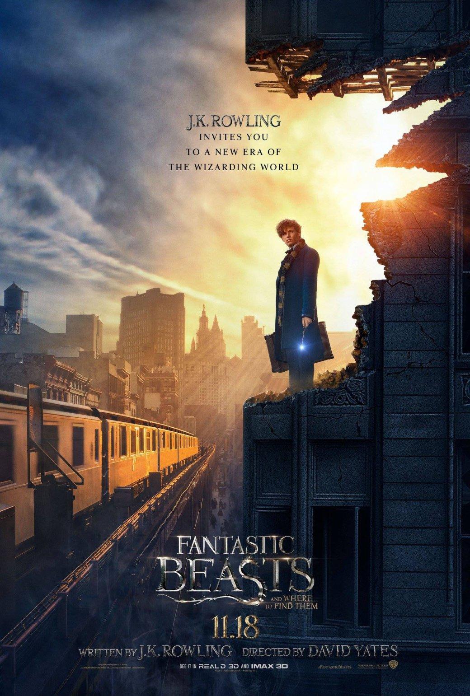 Постер «Фантастических тварей» открыл новую эру творчества Роулинг - Изображение 1