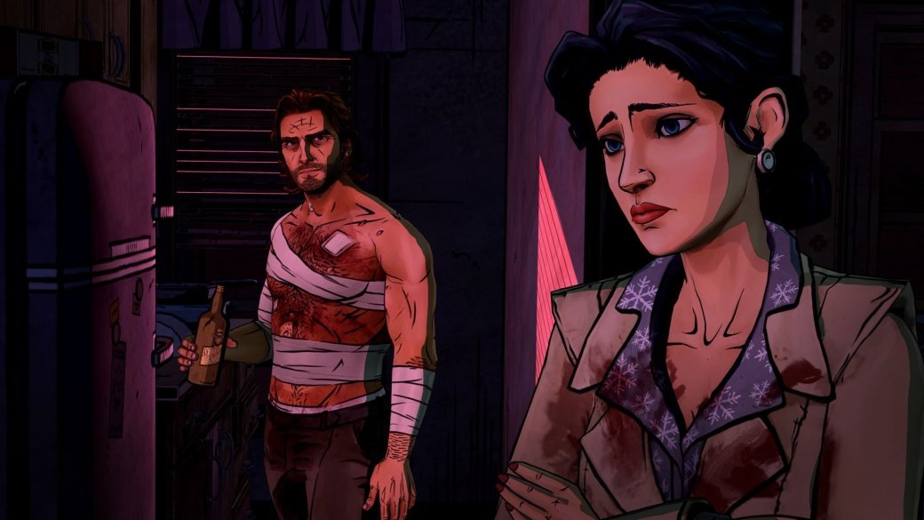 Раненый Бигби попал на кадры четвертого эпизода The Wolf Among Us - Изображение 1
