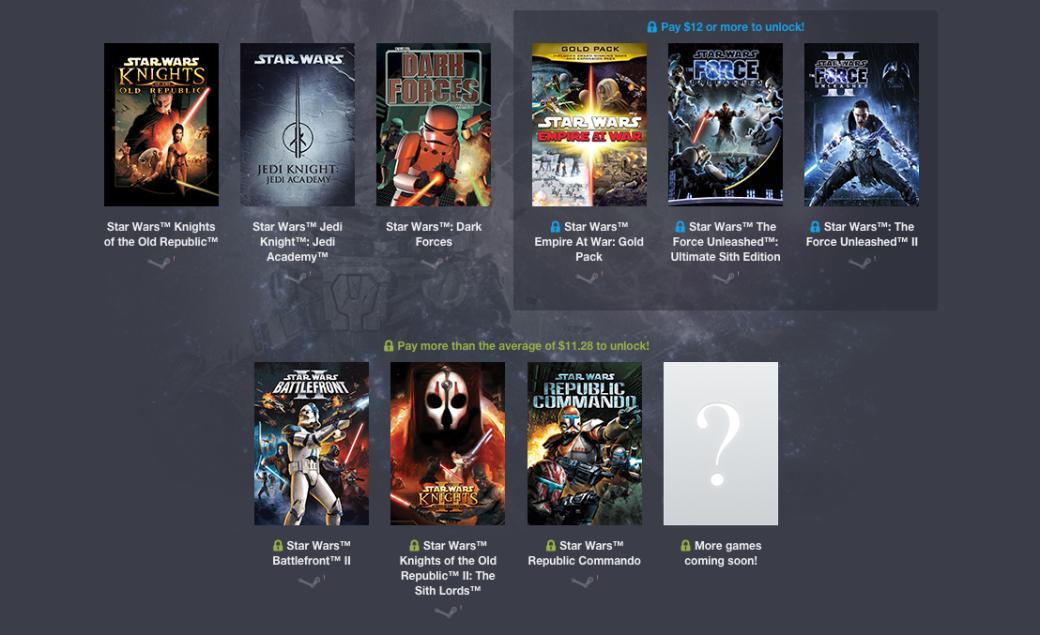 Новый Humble Bundle включает девять игр по «Звездным войнам» - Изображение 1