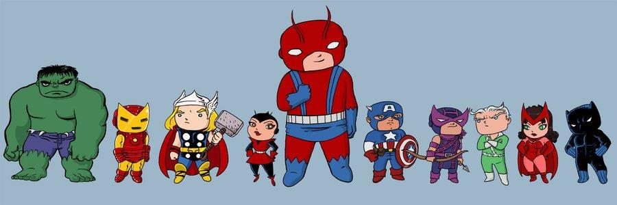 Галерея вариаций: Мстители-женщины, Мстители-дети... - Изображение 193