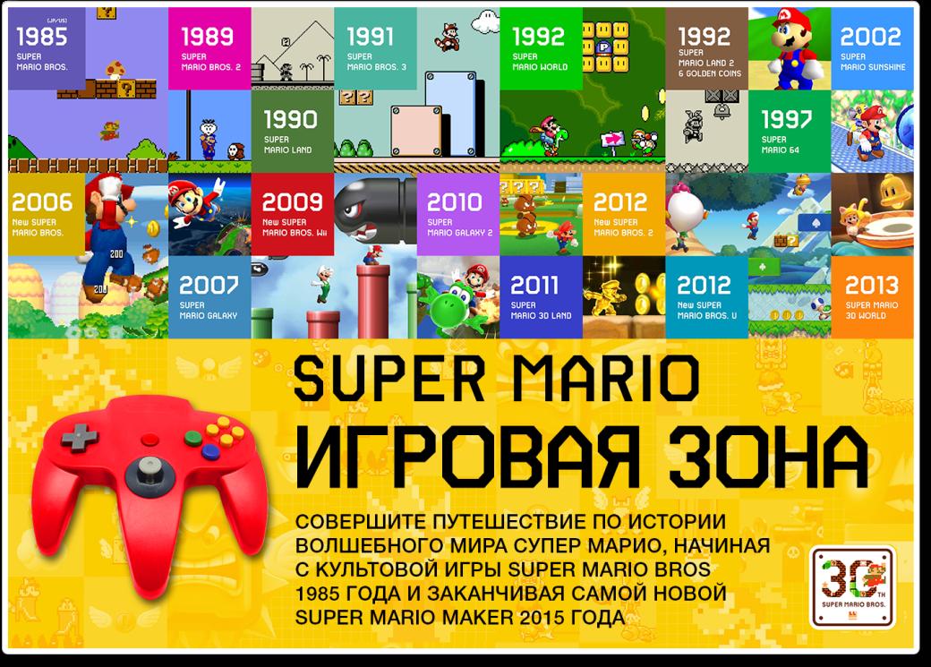 Как в разных странах отметили 30-летие Super Mario Bros.  - Изображение 5