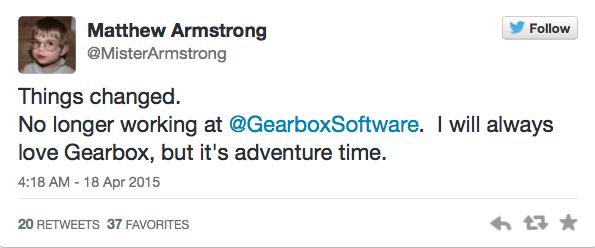 Из Gearbox ушел создатель Borderlands и аддонов Half-Life - Изображение 1