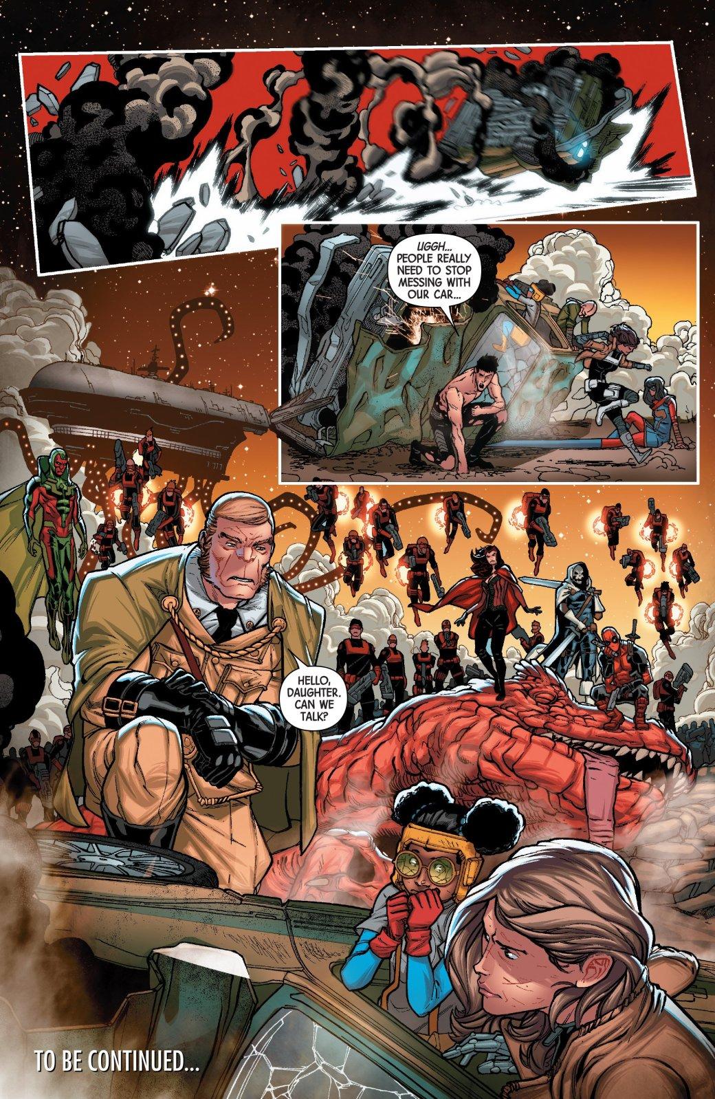 Secret Empire: противостоянию Стива Роджерса иТони Старка нет конца - Изображение 12