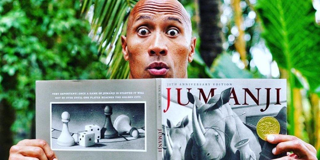 Съемки «Джуманджи» со Скалой начались с прокачки маны - Изображение 1