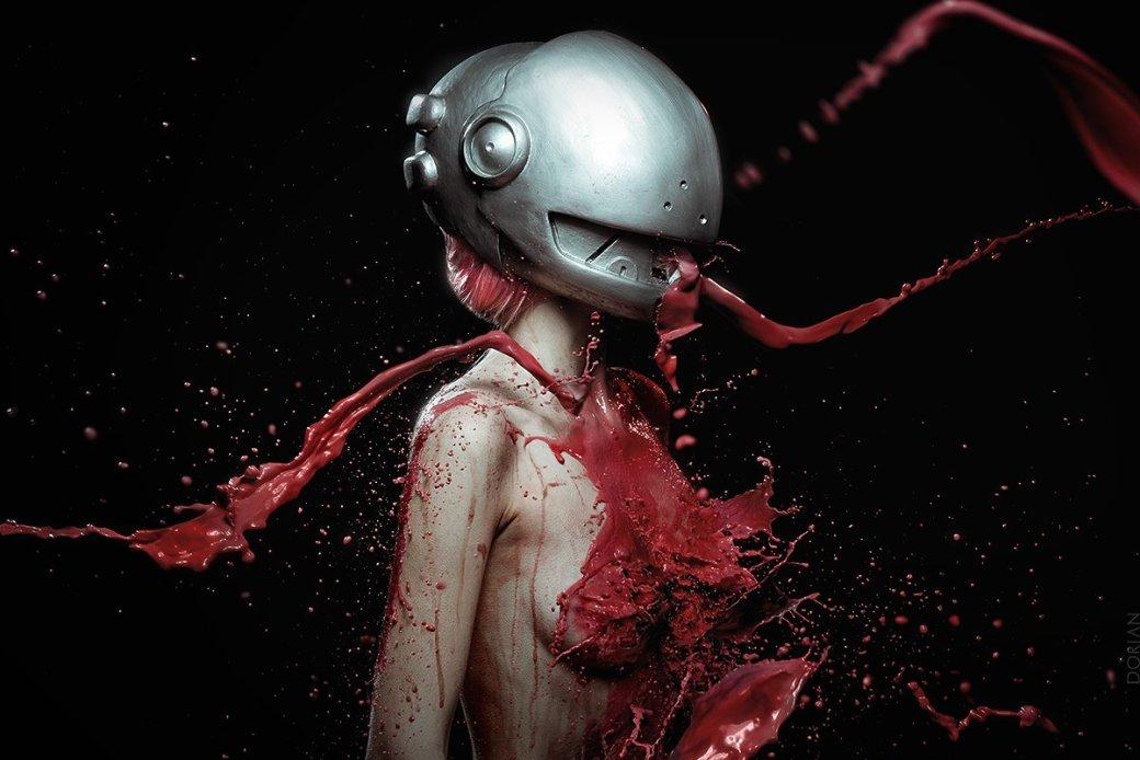 Фонтаны крови: косплей Люси из «Эльфийской песни» - Изображение 3