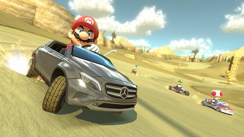 Mercedes использует Марио для рекламы нового автомобиля. - Изображение 1