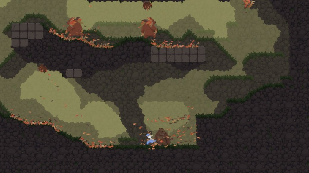 Prince of Persil: рецензия на Dustforce - Изображение 3