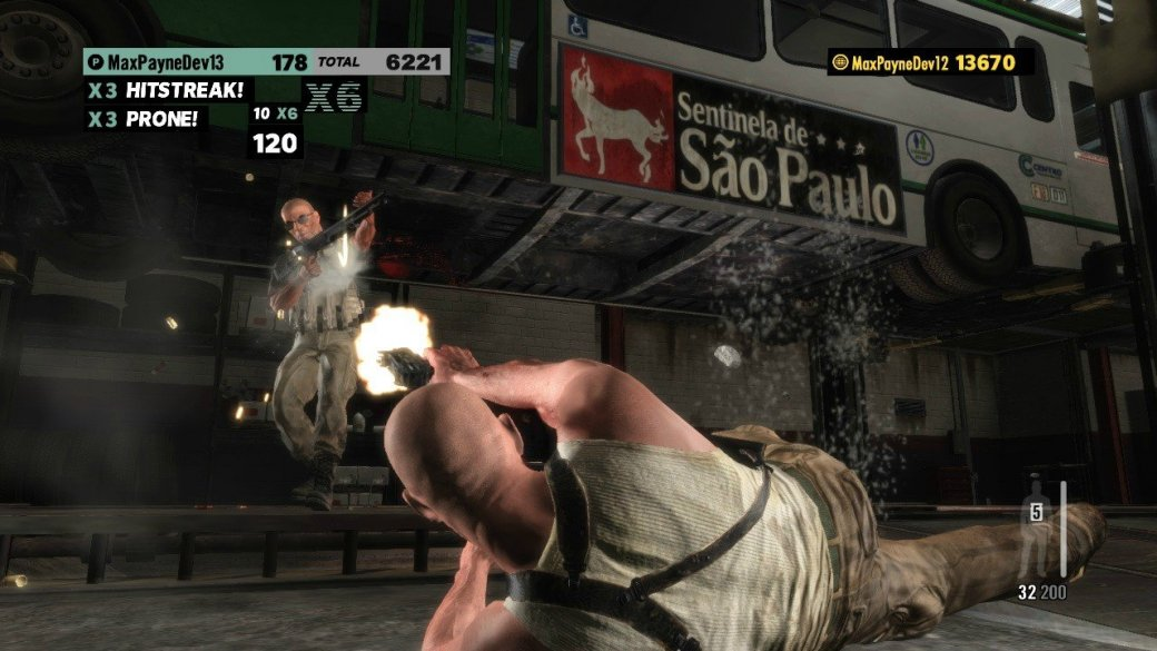 Скриншоты Max Payne 3: хэдшот бонус - Изображение 6