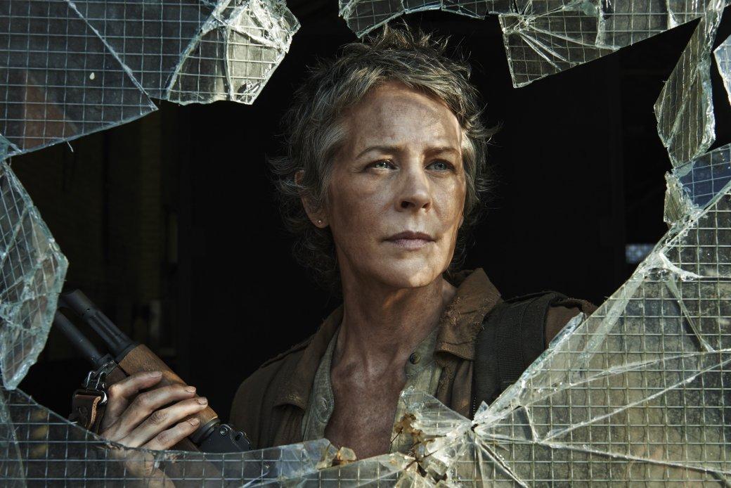 Кэрол из «Ходячих мертвецов» чуть не съели в третьем сезоне - Изображение 1