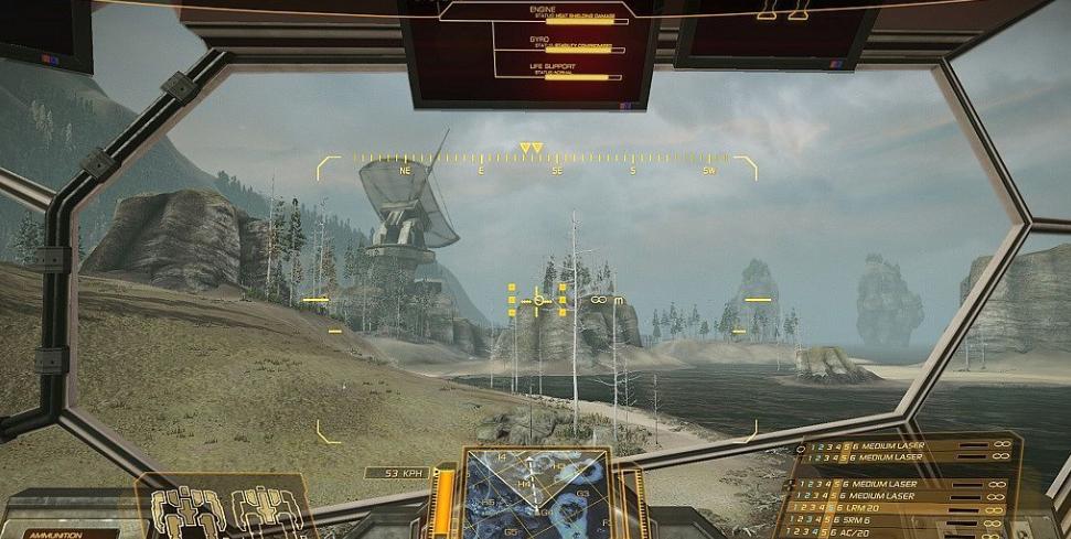 Скриншоты MechWarrior Online: нержавеющая сталь - Изображение 1