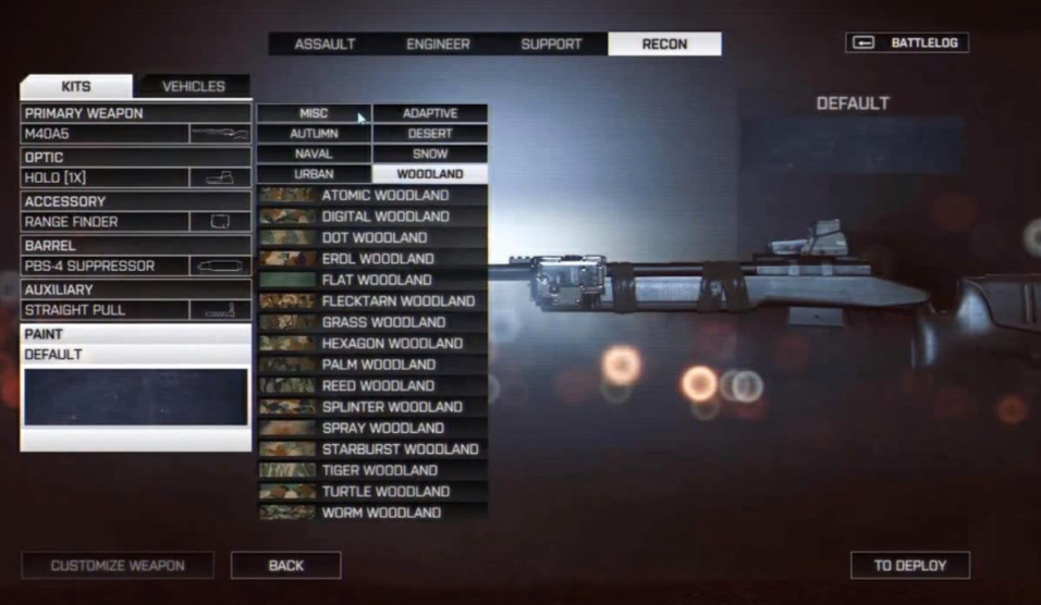 Камуфляж оружия в Battlefield 4. - Изображение 8