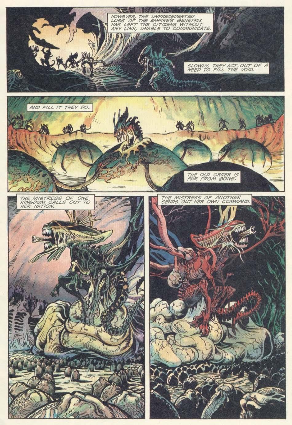 Жуткие комиксы про Чужих, откоторых кровь стынет вжилах. - Изображение 11