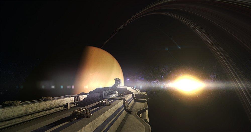 В ролике Flagship развернулась война в космосе - Изображение 1