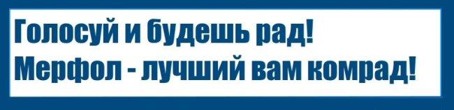 Предвыборная агитация Мерфола - Изображение 1