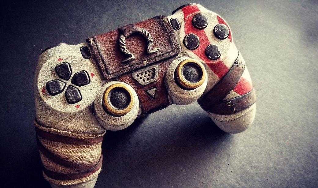Взгляните напотрясающий DualShock 4 встиле новой God ofWar. - Изображение 1