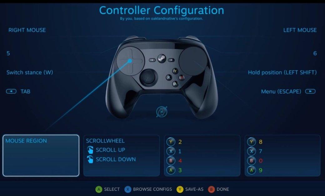 Steam Controller стал удобнее для любителей стратегий - Изображение 1