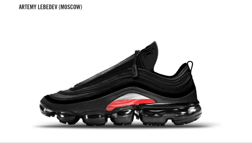 Артемий Лебедев разработал дизайн кроссовок Nike - Изображение 1
