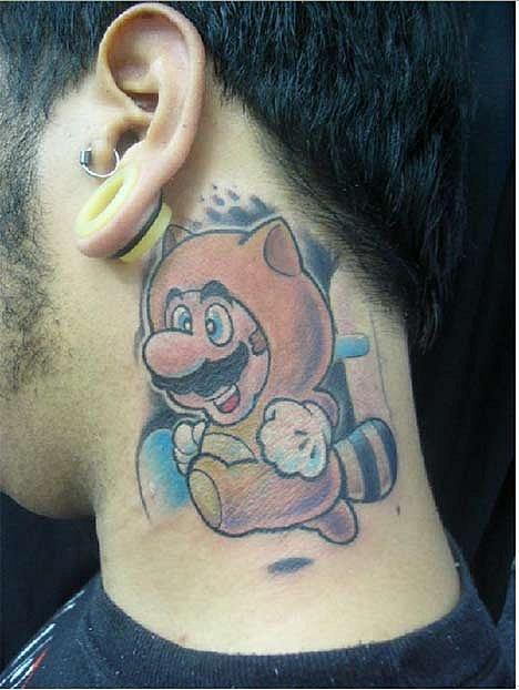 Татуировки фанатов видеоигр. - Изображение 4