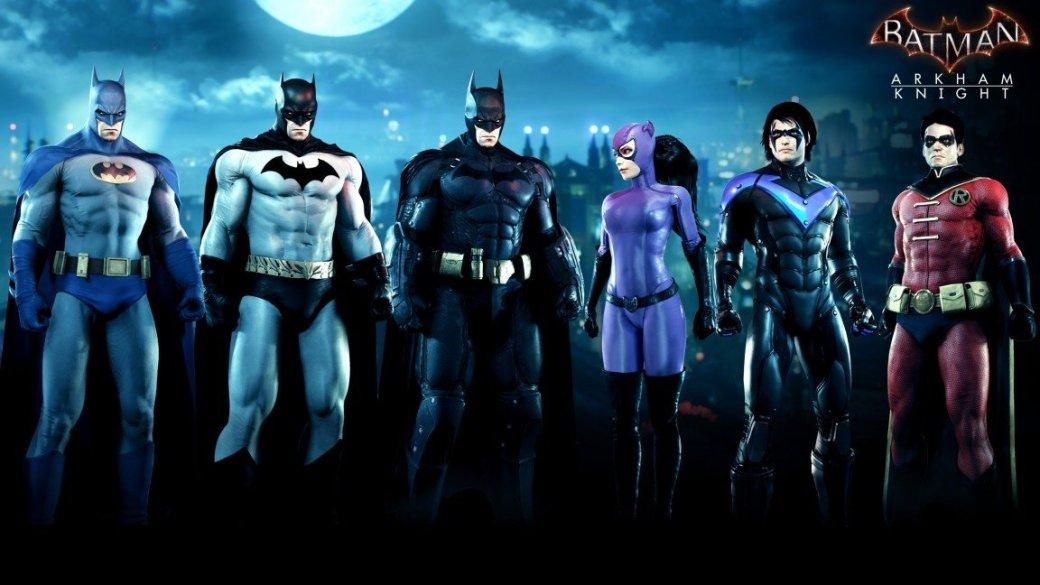 Arkham Knight: новые костюмы и Бэтмобиль в августе - Изображение 2