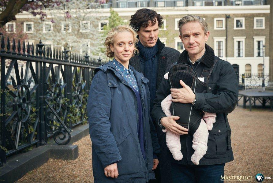 Дядя Шерлок! Фото четвертого сезона знакомят с пополнением в семействе - Изображение 1