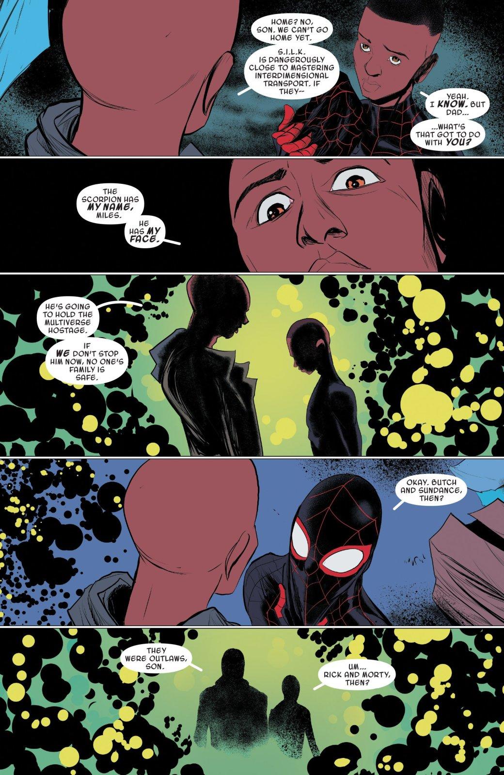 Финал кроссовера Человека-паука Майлза Моралеса и Гвен-паук - Изображение 16