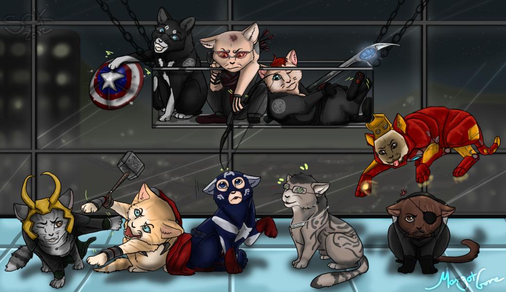 Галерея вариаций: Мстители-женщины, Мстители-дети... - Изображение 109