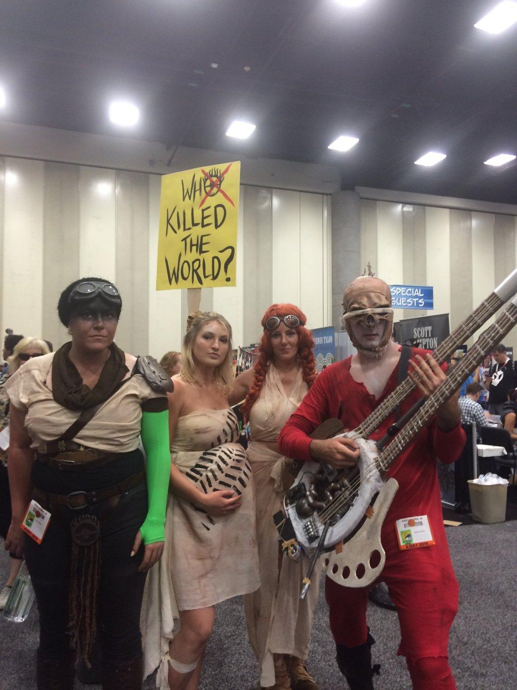 Лучший косплей Comic-Con 2015 - Изображение 85