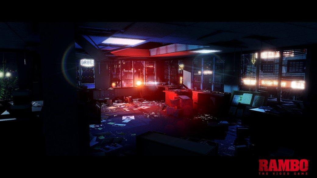 """Опубликован первый скриншот видеоигры """"Рэмбо"""" - Изображение 1"""