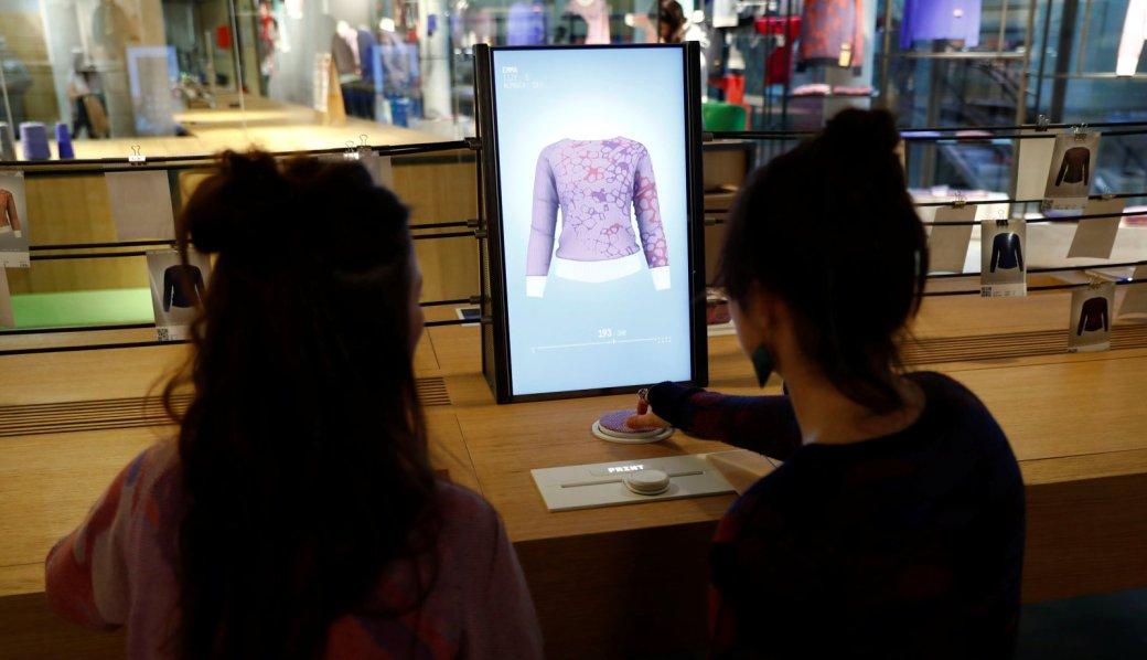 Adidas открыл магазин попродаже индивидуальных вещей