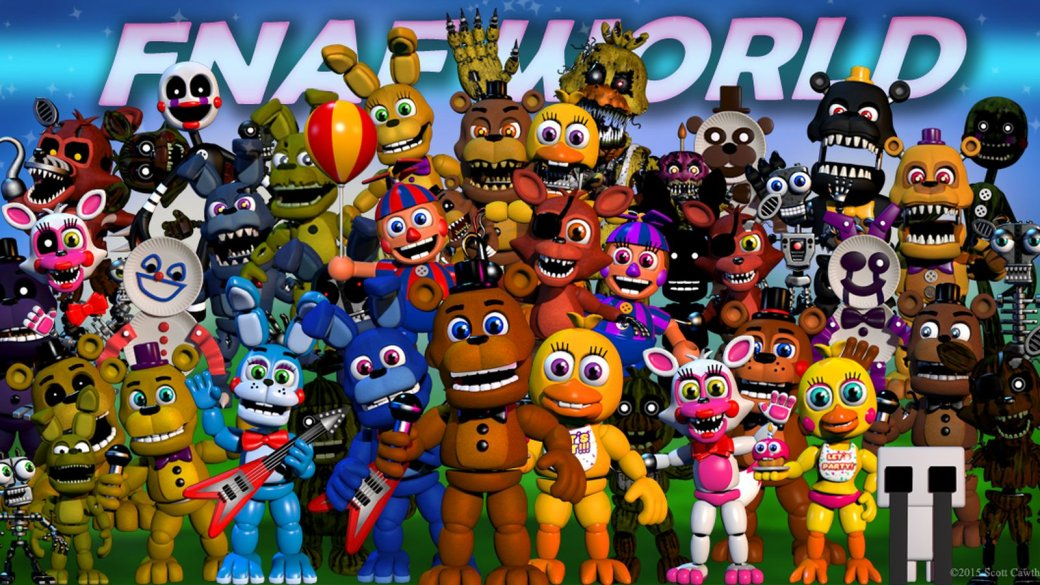 Коутон убрал Five Nights at Freddy's World из Steam, вернет деньги - Изображение 1