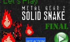 Lets Play Metal Gear 2. Финал