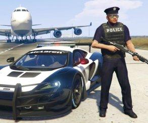 Гифка дня: как работает американская полиция напримере Grand Theft Auto5