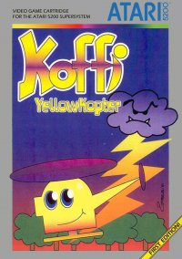 Koffi Yellow Copter – фото обложки игры
