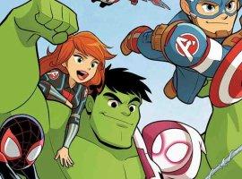 Marvel анонсировала первый комикс для дошкольников. Про приключения Человека-паука вВаканде