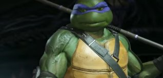 Injustice 2. Трейлер DLC Teenage Mutant Ninja Turtles