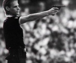 Судья застрелил футболиста в видео Wolfenstein: The New Order