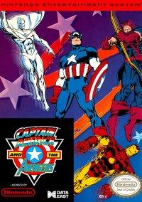 Captain America and the Avengers – фото обложки игры