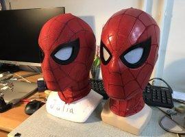 Косплеер сделал реалистичную маску Человека-паука. Сподвижными линзами изфильма! [обновлено]
