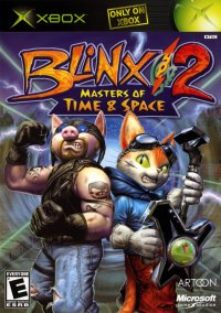 Blinx 2: Masters of Time and Space – фото обложки игры