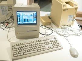 К iPhone X подключили клавиатуру и мышку от древнего ПК Macintosh 128K. И все заработало!