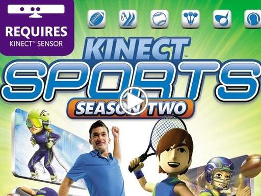 Kinect Sports: Season Two - E3 2011. Презентация