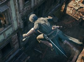 Гифка дня: отрицание гравитации вAssassin's Creed Unity
