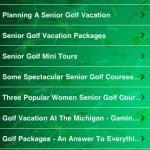 Скриншот All About Golf For Seniors – Изображение 4