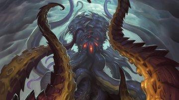Гневион сражается с Н'Зотом в кат-сцене последнего обновления WoW: Battle for Azeroth