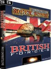 Combat Mission: Shock Force - British Forces – фото обложки игры