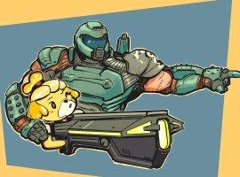 Разработчики Doom Eternal размышляли над тем, чтобы добавить Думгая вSuper Smash Bros. Ultimate